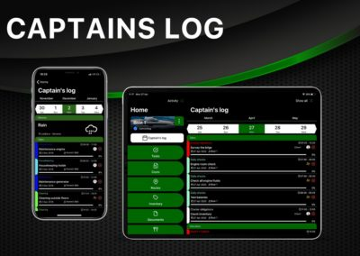 Captains Log | Yacht Manager App