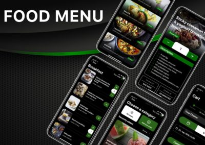Food Menu | Order food | Yacht Manager App