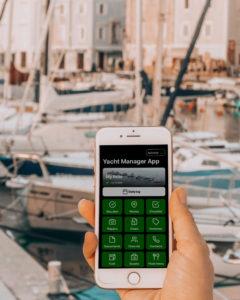 Yacht Managing App