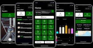 Yacht Management App iPhones